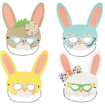 Funny Bunny Mask Kit 8/$18