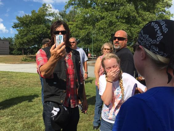 """a norman stalker on Twitter: """"Norman's """"Look what I can do"""" expression while face-timing gives me life. (richardjackson) @MakeAWish @MakeAWishGA #thundertowerwestharley https://t.co/xTWaP4oAXD"""""""