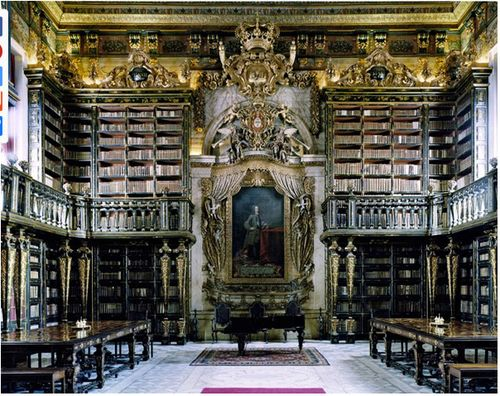 The University of Coimbra. General Library in Coimbra, Portugal.