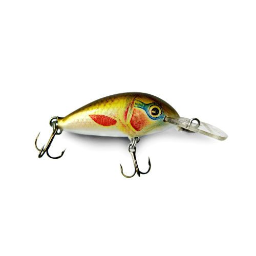 Ugly duckling fishing lure balsa wood great for trout for Bluegill fishing tackle