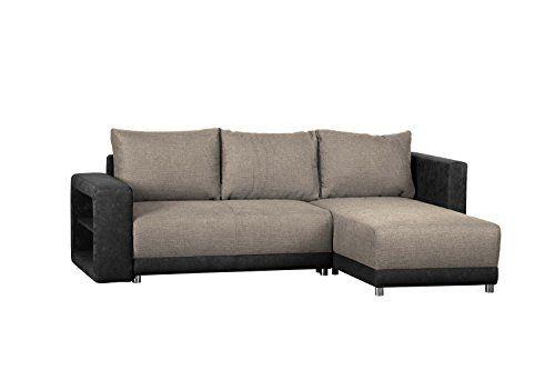 Wohnlandschaft L Form Ohne Federkern Sofa Mit Schlaffunktion Und