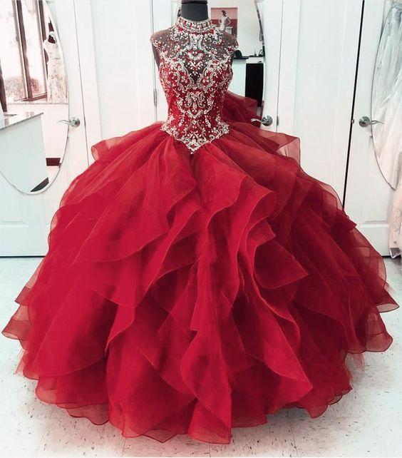 29++ Burgundy sweet 16 dresses trends