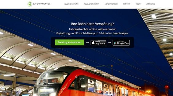 #ZugErstattung: Ihre #Bahn hatte #Verspätung, der #Zug ist #ausgefallen?