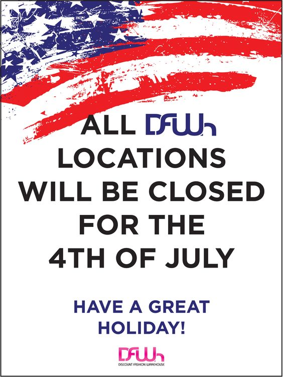 closed july 4th images