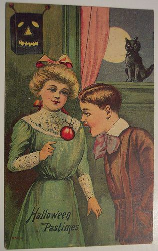 Vintage Halloween Postcard   Flickr - Photo Sharing!