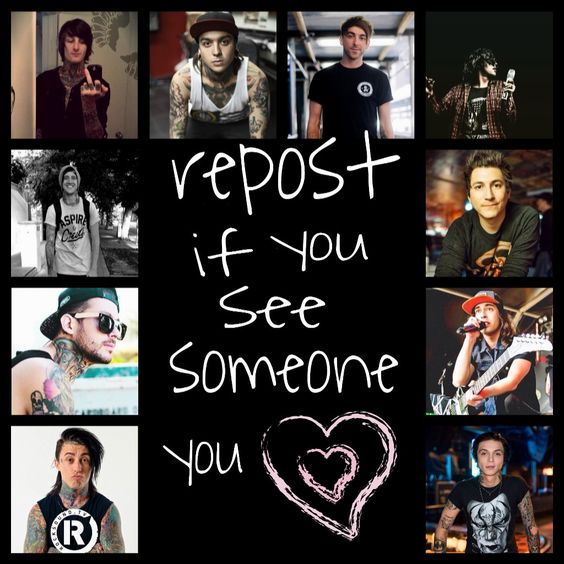 Mitch lucker, Tony perry and Heroes on Pinterest