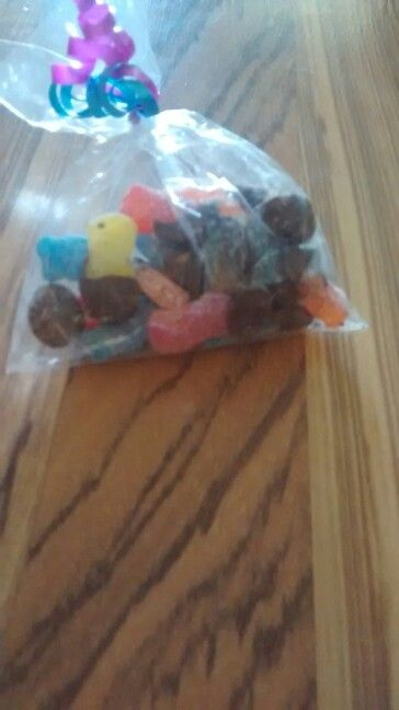 Chocolate covered sour patches