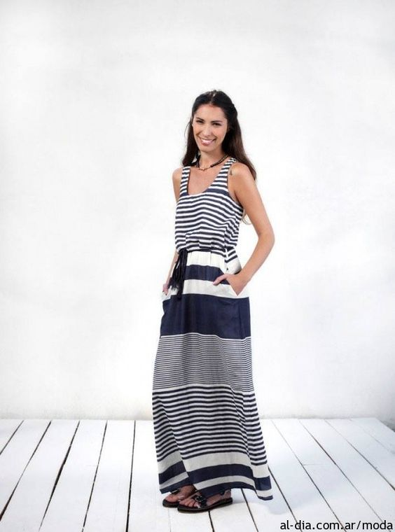 Vestido para dia largos verano 2014 de VER