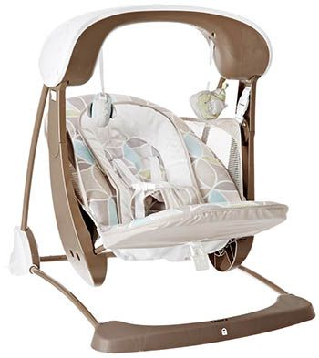 5. Fisher-Price Deluxe Take Along Swing and Seat