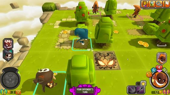 Krosmaster Arena is a 3D Free-to-Play Turn Based Strategy [TBS] MMO Game featuring PVP [Player vs Player] oriented 3D board Arena and Turn-Based gameplay