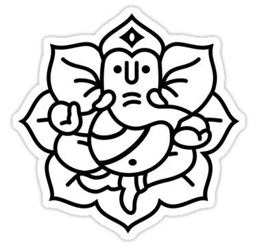 gt ganesh ganesha tattoo lord ganesh ganesh colourings ganesha outline ...