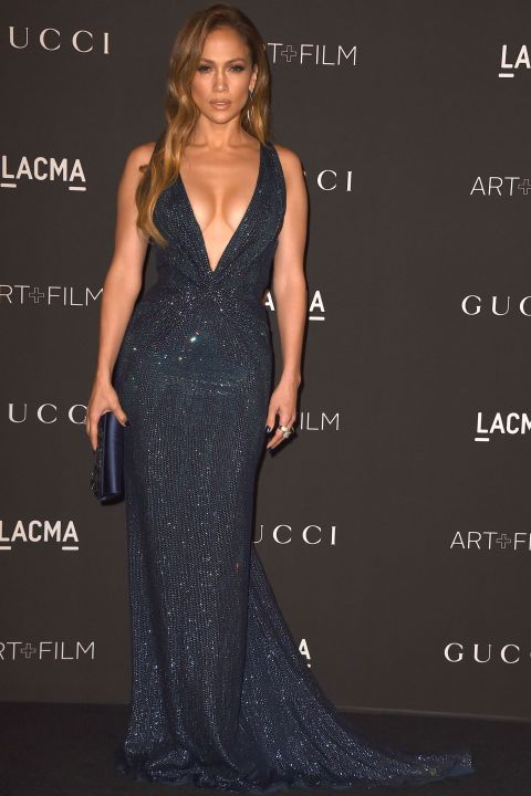 Jennifer arrives at the 2014 LACMA Art + Film Gala Honoring Barbara Kruger and Quentin Tarantino on Nov. 1, 2014, in Los Angeles.