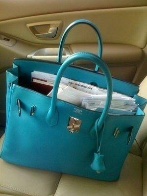 turquoise hermes birkin. #nationalhandbagday #bagporn