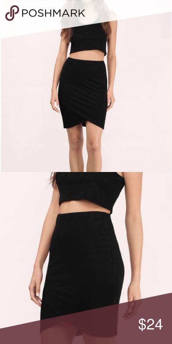 Black bodycon skirt I just ordered this on Tobi. Worn once, in great condition!!! Tobi Skirts Mini
