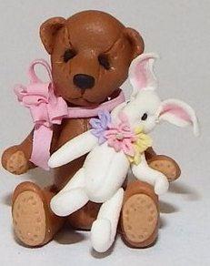 Teddy holding Rabbit by Manda Theart