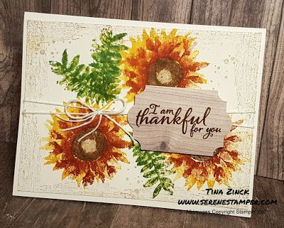 The Serene Stamper: Painted Harvest - Holiday Catalogue Sneak Peek