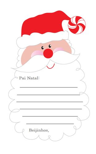 carta para o pai natal - Pesquisa Google