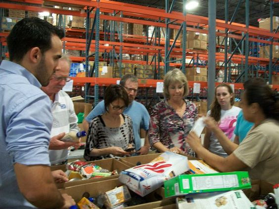 Helping out at Feeding South Florida