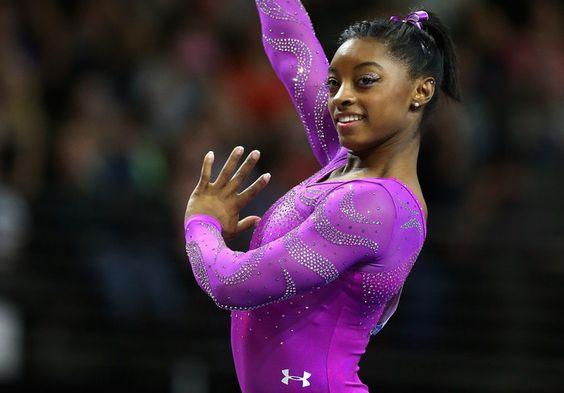 Rio 2016: Simone Biles e seu delineado com glitter