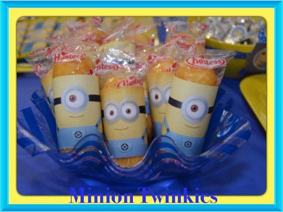 Minion Twinkies...