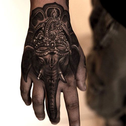 101 Best Hand Tattoos For Men Hand Tattoos For Guys Elephant Tattoos Trendy Tattoos