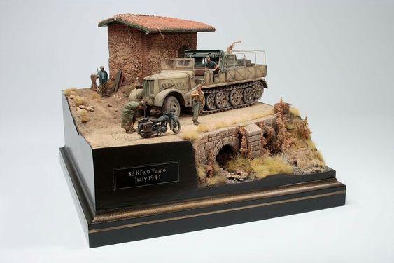 1/35 Sd Kfz 9 Famo, Italy 1944 by Mark Neville