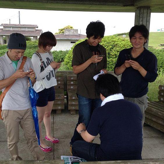 北尾先生のTwitter教室 #30jidori @ 千畳敷 instagram.com/p/aUh7m4Gar1/