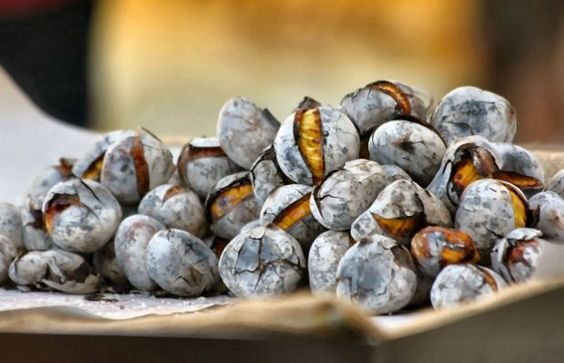 Portuguese Roasted Chestnuts: