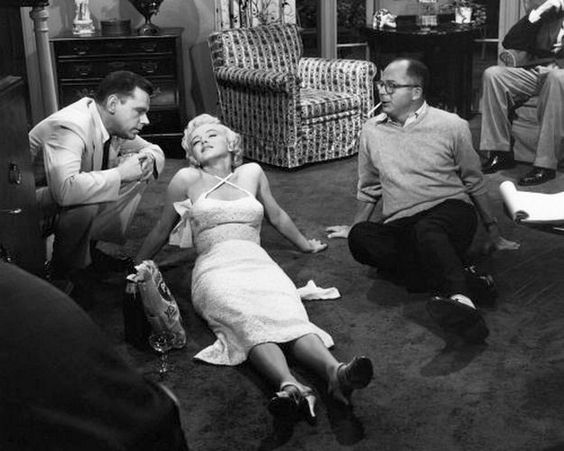 Sur le tournage de The Seven Year Itch 6 - Divine Marilyn Monroe