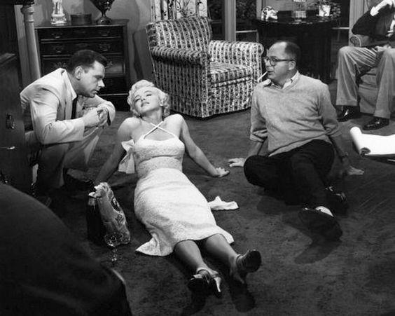 Sur le tournage de The Seven Year Itch 6 - Divine Marilyn Monroe