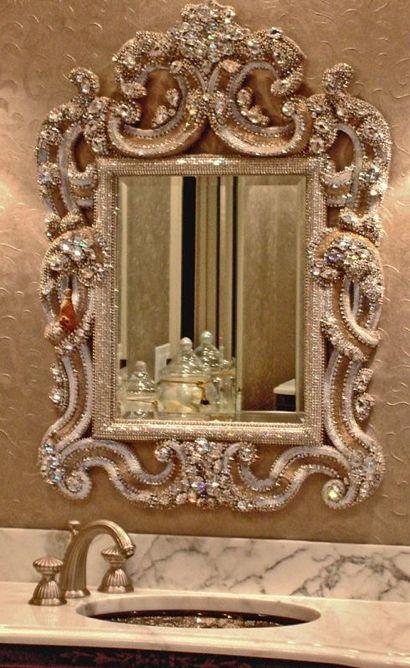 Sparkly mirror