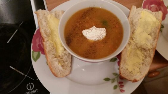 My pumpkin soup- delicious