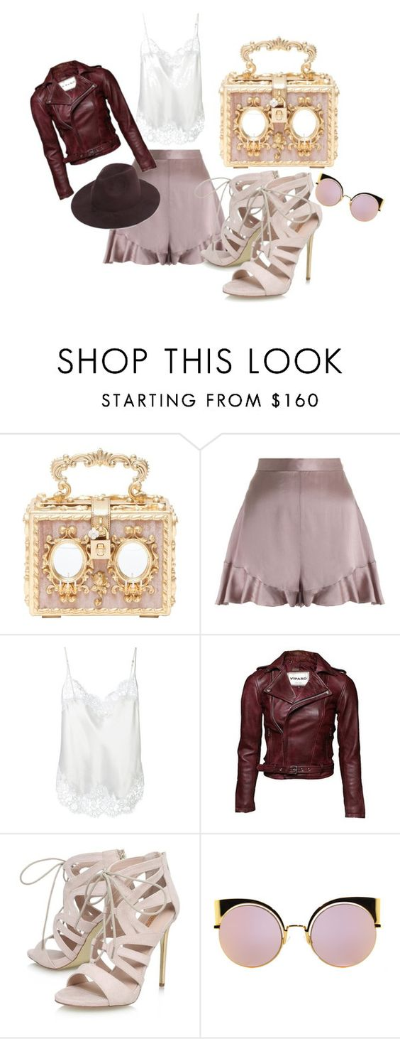 """""""street outfit"""" by natasa-wolfhagen on Polyvore featuring Dolce&Gabbana, Zimmermann, Givenchy, Carvela and Fendi"""