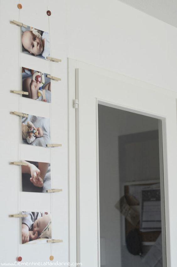 Comment afficher des photos au mur sans cadre