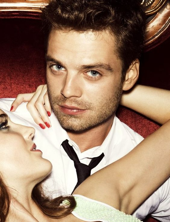 Sebastian Stan Glamour Magazine  2012