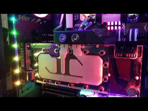 Corsair 680x Custom Water Cooled Build Youtube Water Cooling