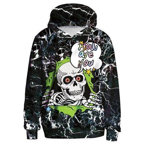 Arsmt Hooded Sweatshirt Mens Cool Pullover Fleece Hoodie Christmas Palm Trees