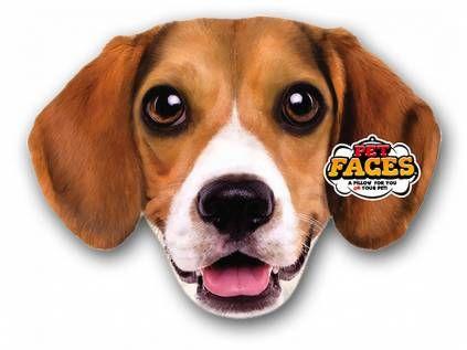Kissen & KissenbezügePet Faces Kissen Hund: Beagle -50 cm-