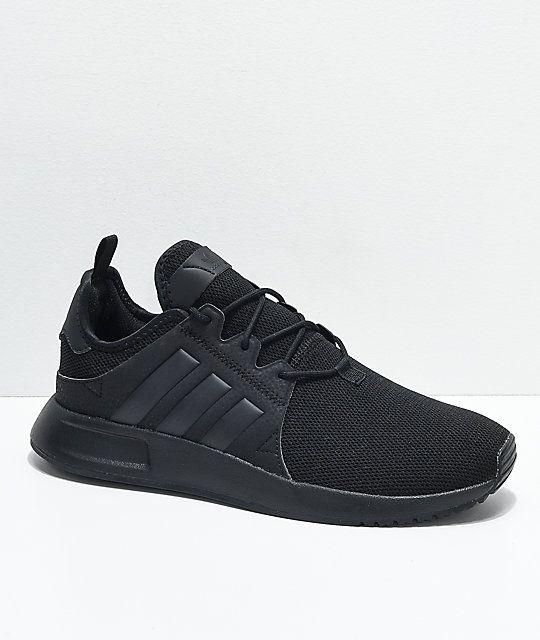 adidas Xplorer Core Black Shoes | Zumiez | Black adidas shoes ...