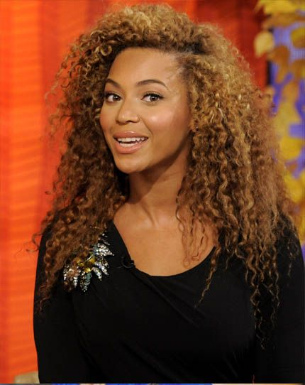 Astounding Beyonce Curly Hair And Love The On Pinterest Hairstyles For Women Draintrainus