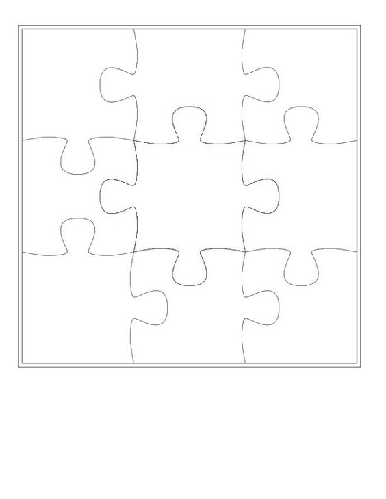 puzzle invitation template