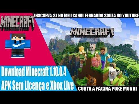 Download Mcpe 1 10 0 4 Oficial Apk Sem Licenca Xbox Live