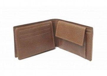 MYOMY - Philip - Pocket wallet - #plantaardig gelooid #leren en #fairtrade heren #portemonnee met 2 vakken voor briefgeld, een vakje met drukknoop voor kleingeld en ruimte voor 6 pasjes en een rijbewijs - gratis verstuurd in Nederland - feelgoodecostore.nl