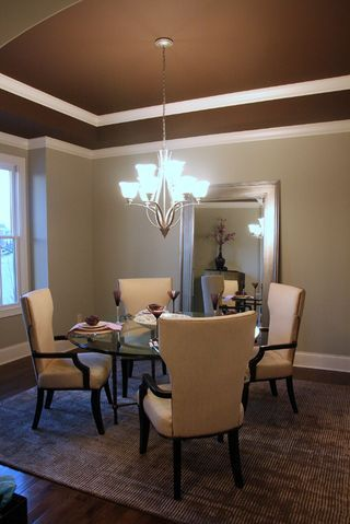 Pinterest the world s catalog of ideas for Dining room ceiling paint ideas