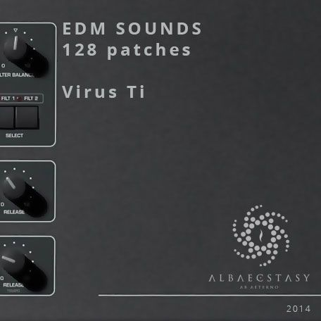 Patches are compatible with Ti, Ti2, DarkStar, Polar and Snow Virus models. The new OS 5 is neccessary for this soundset.  http://www.albaecstasy.ro/virus-ti-presets/
