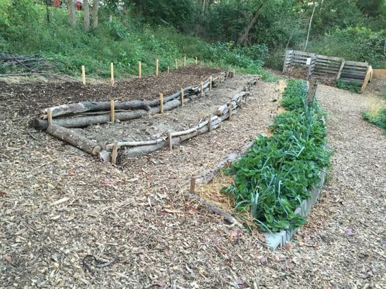 Check log terrace permaculture pinterest terrace for Terraced landscape definition