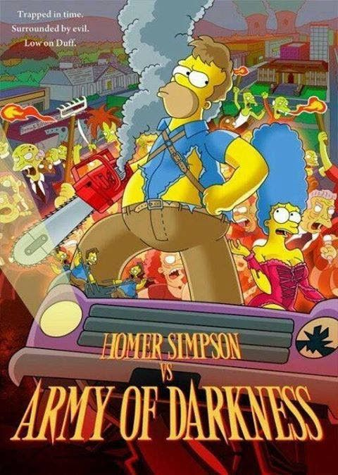 Pin By Cody On Evil Dead Homer Simpson The Simpsons Movie The Simpsons