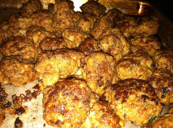 Zucchini  Master Mix for- Meatballs, Burgers, Meatloaf !