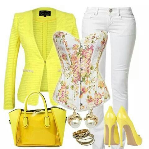 Lovely fall outfit i seen on facebook , and for my yellow lovers this is all you