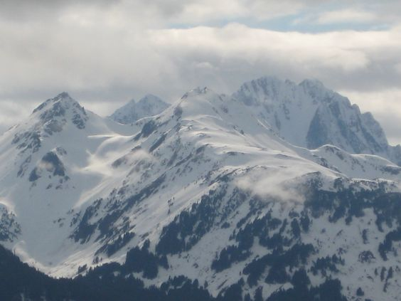 just another amazing mountain in alaska